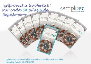 Promo pilas con Logo Amplitec